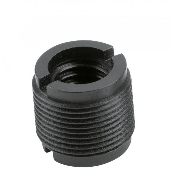 K&M 85040 Reduziergewinde schwarz