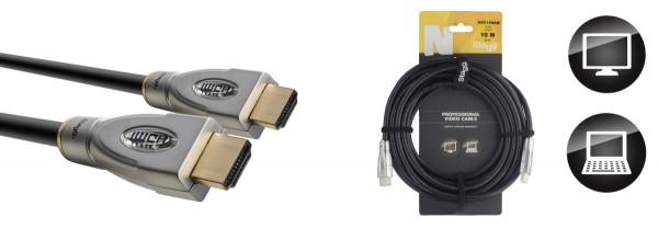 STAGG NVC10HAM N-Serie HDMI 1.4 Kabel