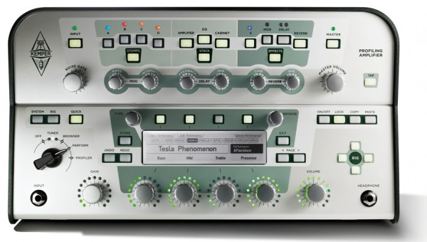 Kemper Profiling Amplifier white