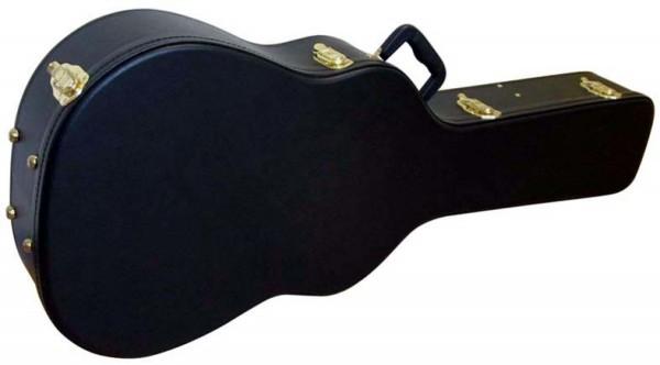 STAGG GCA-W 12 BK Basic Serie Hartschalenkoffer für 12-saiter Western Gitarre