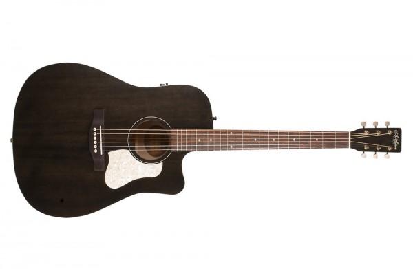 A&L Americana Faded Black CW QIT Dreadnaught Gitarre