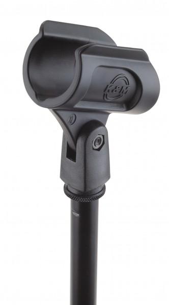 K&M 85070 Mikrofonklammer schwarz