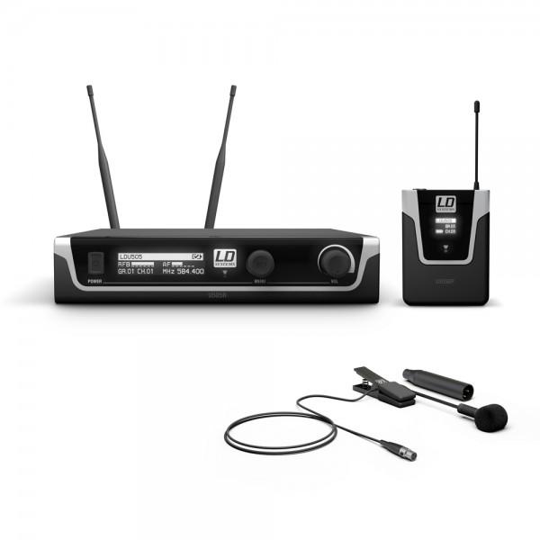 LD Systems U505 BPW - Funkmikrofon System mit Bodypack und Blasinstrumenten Mikrofon