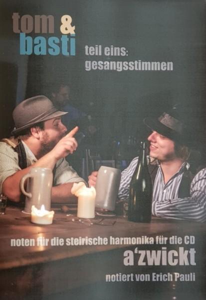 Tom & Basti - Spielheft mit Melodie und Gesangsstimmen