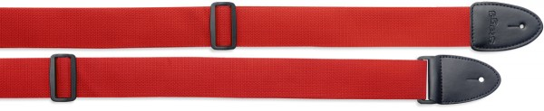 STAGG SN5 RED Gitarrengurt aus rotem Nylon - Standard