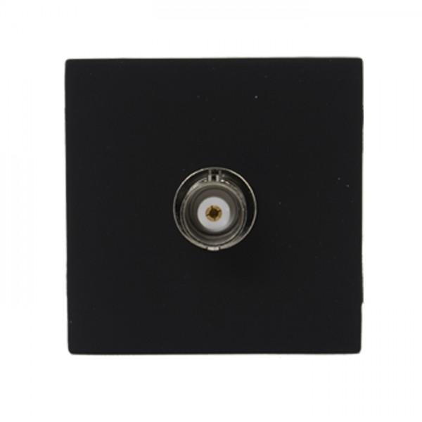 Audac CP 45 BNCB - Anschlussplatte mit BNC Buchse schwarz
