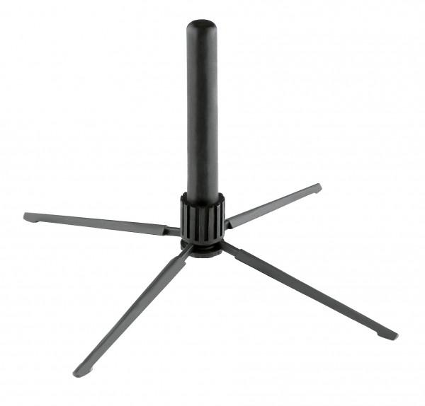 K&M 15232 Flötenständer schwarz