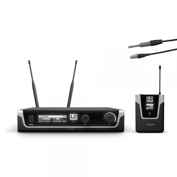 LD Systems U506 UK BPG - Funkmikrofon System mit Bodypack und Gitarren Kabel