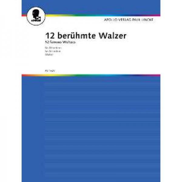 12 berühmte Walzer
