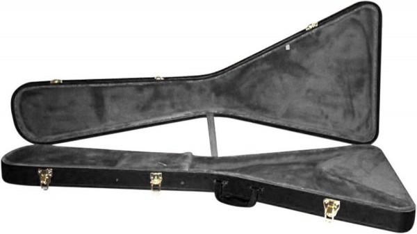STAGG GCA-FV Basic Serie Hartschalenkoffer für Flying V-Stil E-Gitarre