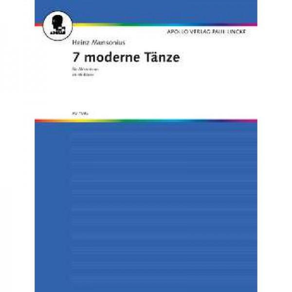 7 moderne Tänze