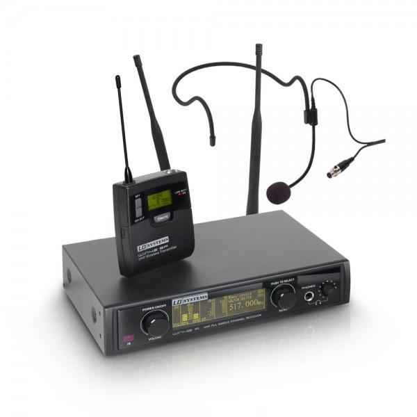 LD Systems WIN 42 BPH B 5 - Funkmikrofon System mit Belt Pack und Headset