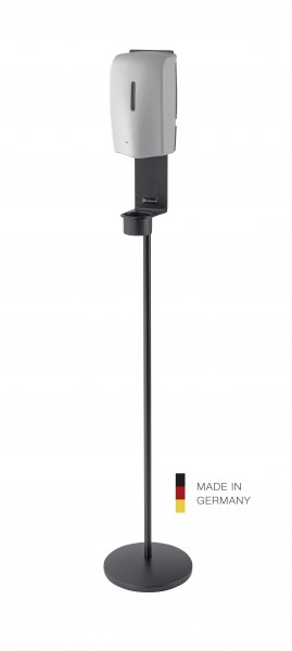 K&M 80329 Desinfektionsmittelständer schwarz inklusive Sensorspender