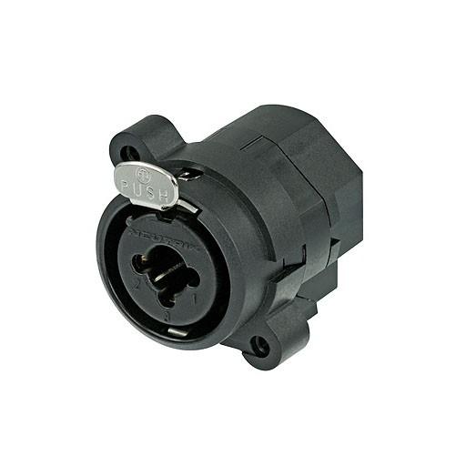 Neutrik CJ 6FI-V - 3-polige XLR/Klinke Einbaubuchse