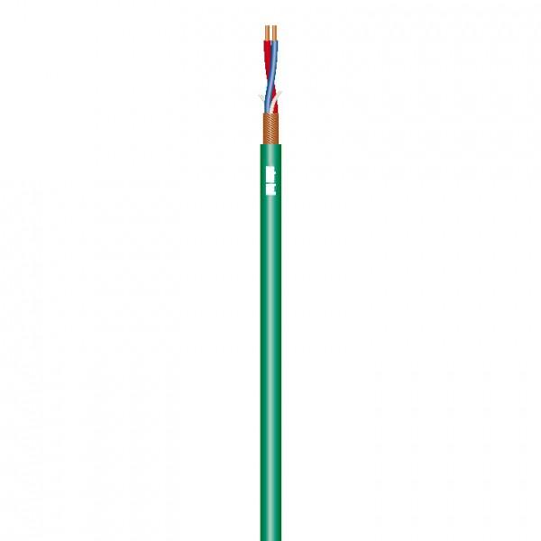 Adam Hall Cables Omega 222 B - Mikrofonkabel 2 x 0,34 mm² blau