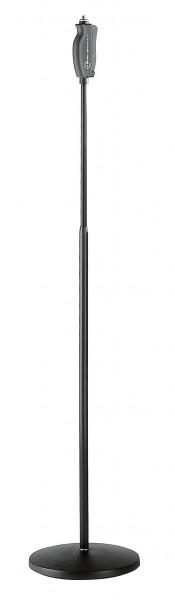K&M 26085 Einhand-Mikrofonstativ schwarz