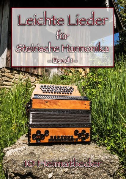 Leichte Lieder für Steirische Harmonika Band 1