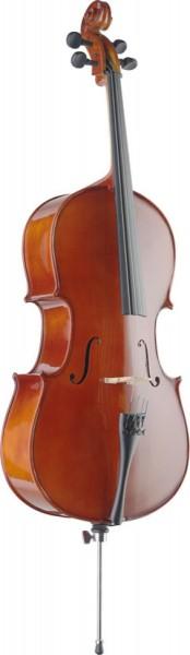 STAGG VNC-1/4 1/4 Vollmassives Cello mit Ahorn Korpus und Tasche
