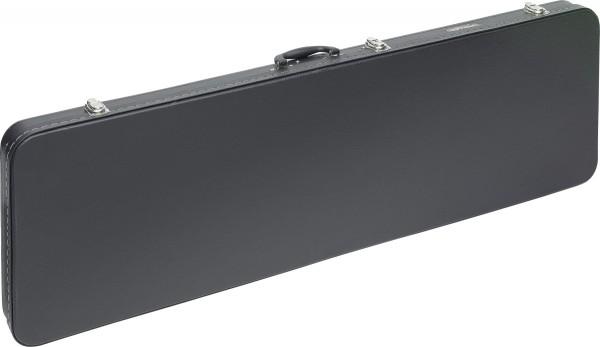STAGG GEC-RB Economic Serie Leichtes Hartschalenkoffer für E-Bassgitarre, viereckiges Modell