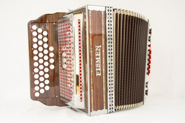 Fismen steirische Harmonika Modell Studio 23 G-C-F