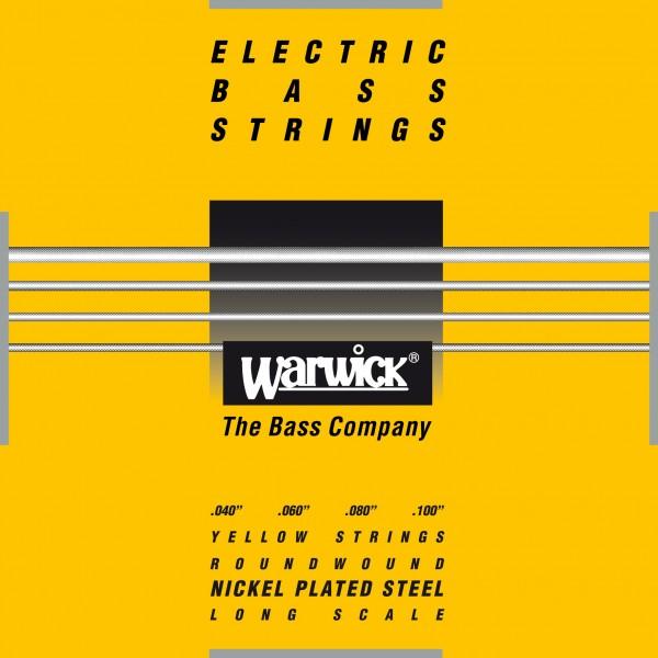 Warwick Yellow Label - Bass String Set, 4-String, Medium Light, .040-.100