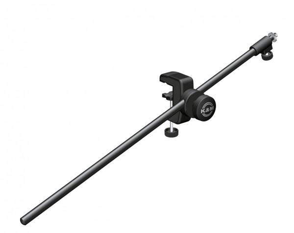 K&M 258 Tisch-Mikrofonklammer schwarz