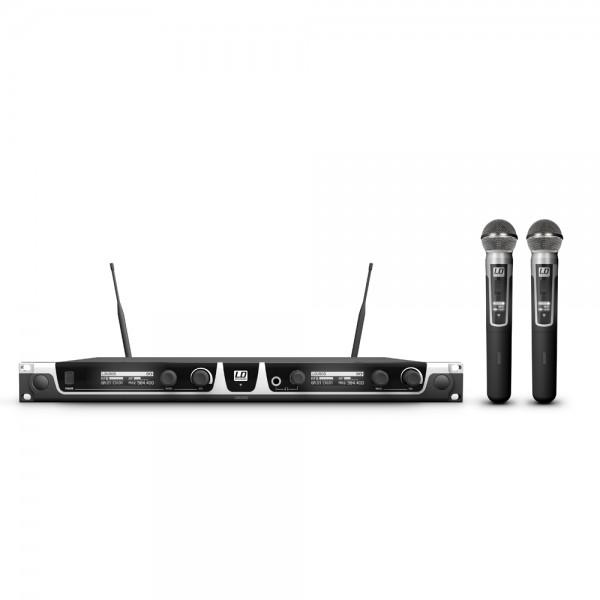 LD Systems U505 HHD 2 - Funkmikrofon System mit 2 x Handmikrofon dynamisch