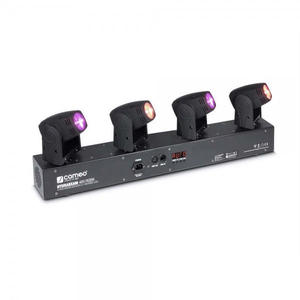 Cameo HYDRABEAM 400 RGBW - Lichtanlage mit 4 ultraschnellen 10 W CREE RGBW Quad-LED Moving Heads