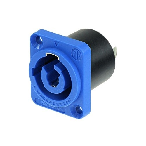 Neutrik C3 MPA-1 - Powercon Buchse blau