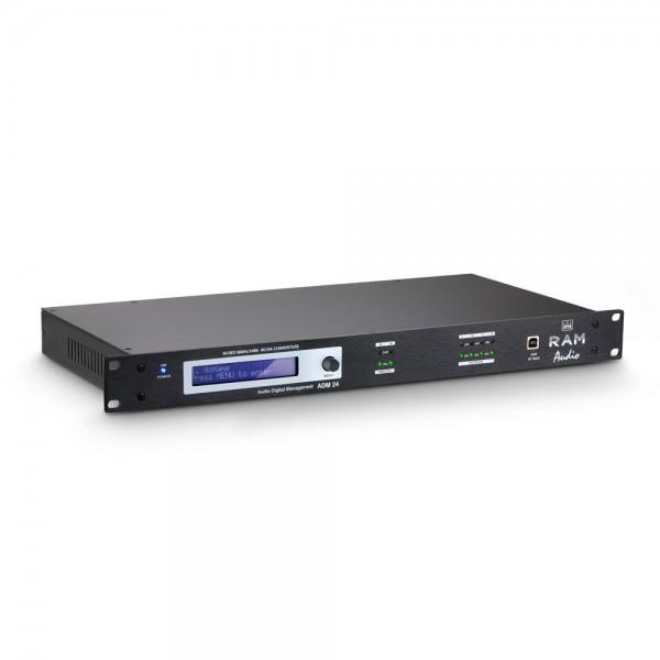 """Ram Audio ADM 24 - 19"""" DSP Controller"""