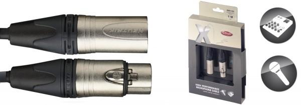 STAGG XMC1XX X-Serie, Mikrofon Kabel - XLR v/ XLR m
