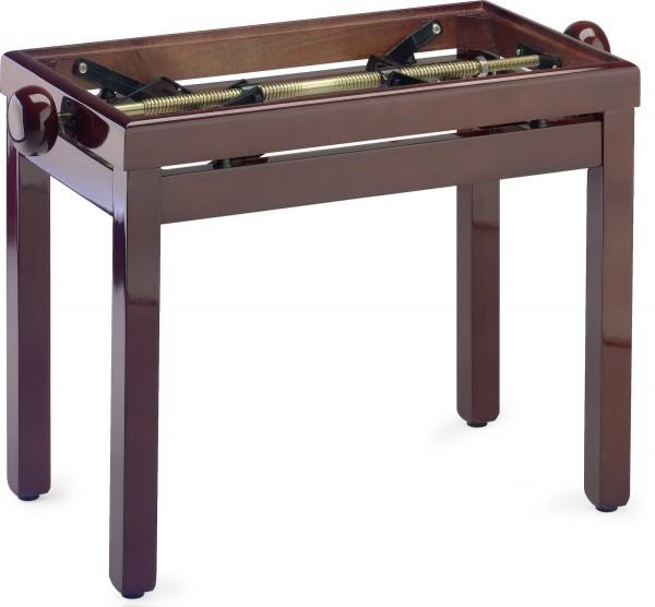 STAGG PB39 MH P Hochglanz Klavierbank. Farbe Mahagoni, ohne Sitzfläche