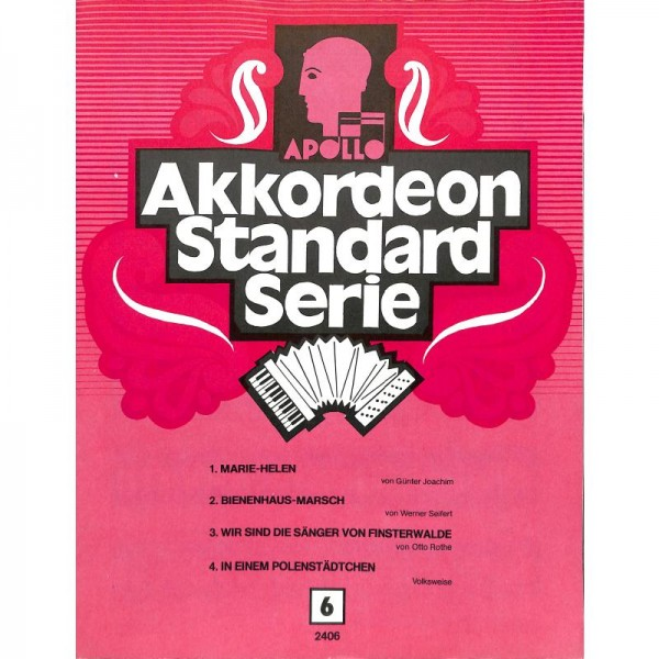 Akkordeon Standard 6