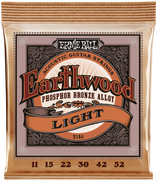 ERNIE BALL Akustik Earthwood Phosphor Bronze Light 11-52