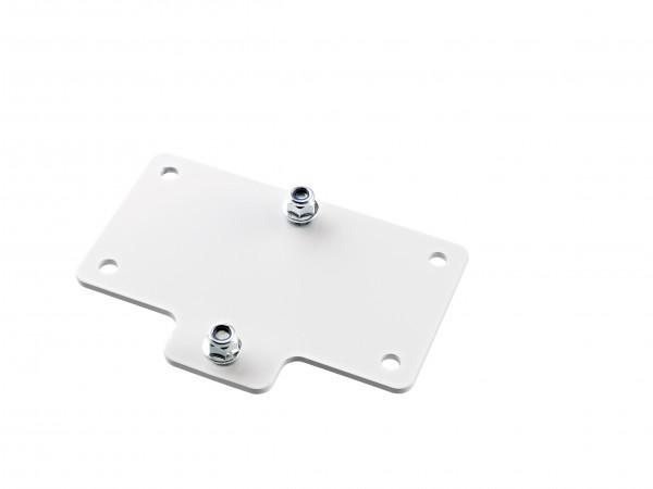 K&M 24357 Adapterplatte 4 weiß