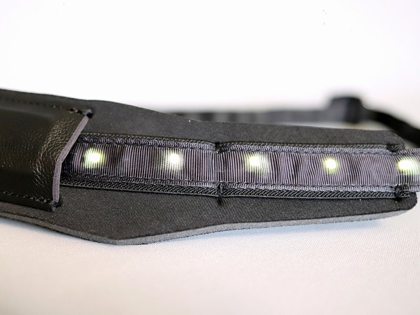 DC LED Saxophon Gurt schwarz