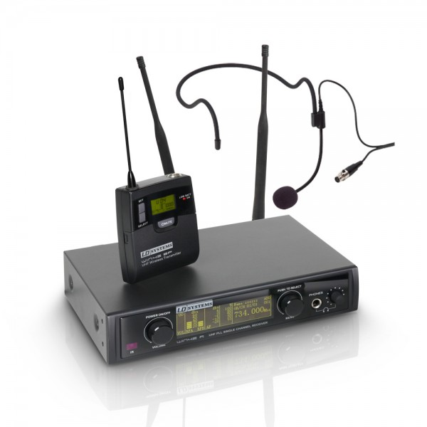 LD Systems WIN 42 BPH - Funkmikrofon System mit Belt Pack und Headset