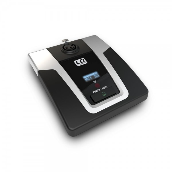 LD Systems U508 CST - Sprechstellensockel für Konferenzsystem 823 - 832 MHz & 863 - 865 MHz
