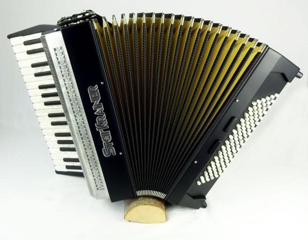 Starkrainer Akkordeon 496-A schwarz matt
