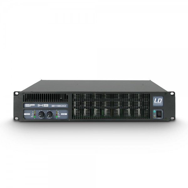 LD Systems SP 1K8 - PA Endstufe 2 x 880 W 2 Ohm