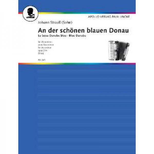 An der schönen blauen Donau op 314