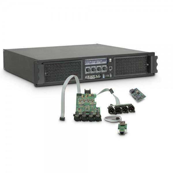 Ram Audio W 12044 DSP E AES - PA Endstufe 4 x 2950 W 4 Ohm inkl. DSP mit AES/EBU digitalem Eingang +
