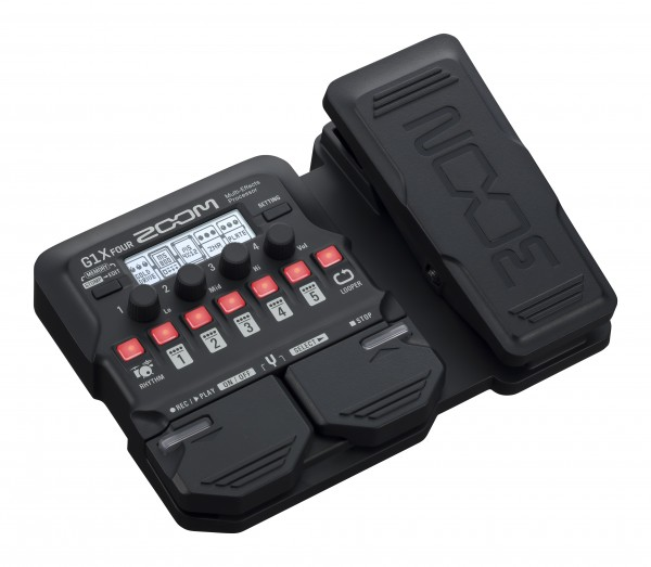 Zoom G1X FOUR Guitar Multi-Effects Pedal