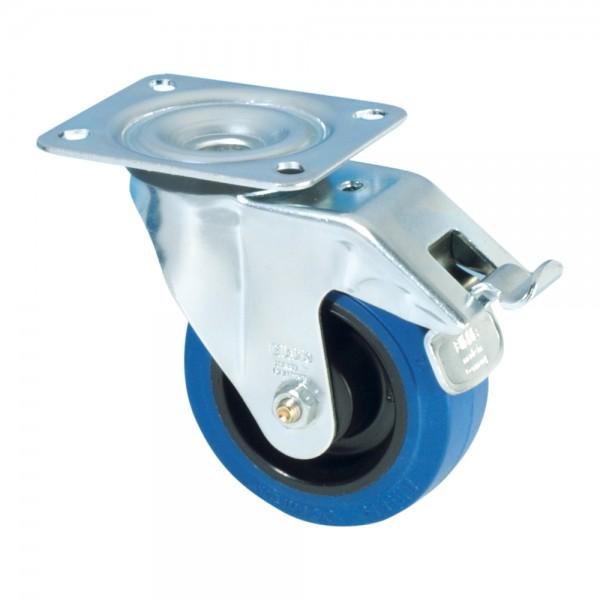 Blickle 37224 - Lenkrolle 100 m mit doppel Funktion Bremse 100 mm