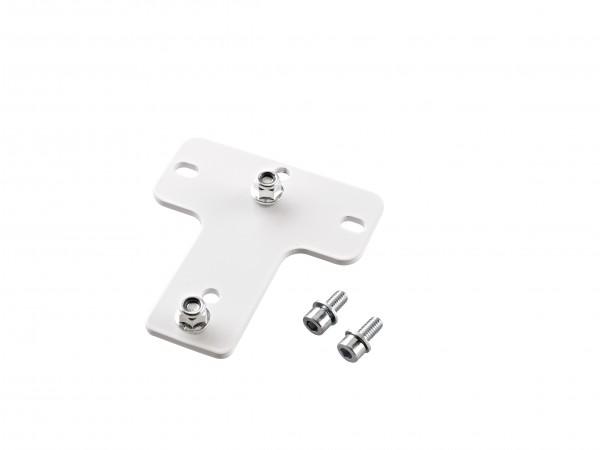 K&M 24359 Adapterplatte 6 weiß