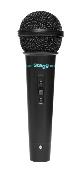 STAGG MD-500BKH Allrounder dynamisches Mikrofon