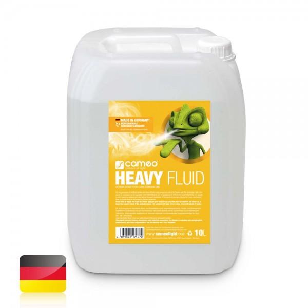 Cameo HEAVY FLUID 10L - Nebelfluid mit sehr hoher Dichte und sehr langer Standzeit 10l