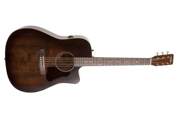 A&L Americana Bourbon Burst CW QIT Dreadnaught Gitarre