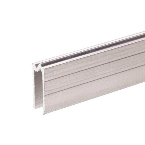 Adam Hall Hardware 6204 - Aluminium-Hybrid-Schließprofil für 7,7 mm Material