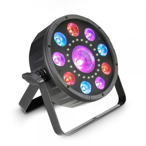 Cameo FLAT MOON - Flacher 3-in-1 PAR-Scheinwerfer mit RGB+UV LEDs und Stroboskop